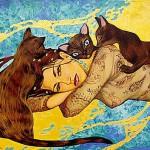 Sunny Egyptian paintings by Russian artist Fattah Hallah Abdel