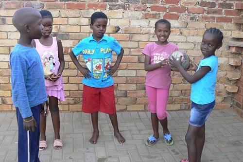 Sanele Masilela and his friends