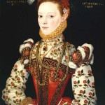 A Young Lady Aged 21, Possibly Helena Snakenborg, Later Marchioness of Northampton 1569 by British School 16th century 1500-1599