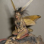 Created using the actual wings and torso of a Sphinx moth
