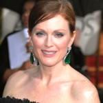 Emerald Drop Earrings, Julianne Moore