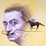 German artist Roland H. Heyder has been influenced by Salvador Dali and the Fantastic Realists for their grandiose, theatrical scenery.