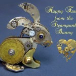 Happy Easter from steampunk bunny