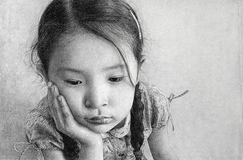 Hyper realistic pencil drawings by Marcos Rey