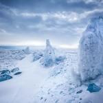 Ice sculptures of Baikal