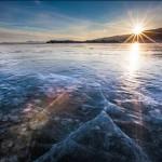 Lake Baikal, colors of sunset, photographer Alexander Cheban