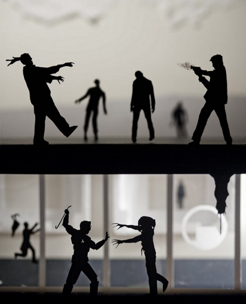 Paper-cut silhouettes by David A. Reeves