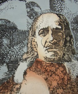Dali by French painter Pierre Spalaikovitch (1946)