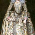 Princess Elizabeth (1596-1662), later Queen of Bohemia, painting by Robert Piquet Senior