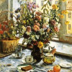 Still life. 1950, artist Nina Vatolina