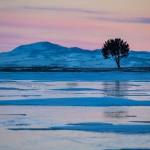 The Baikal, colors of sunset, photographer Alexander Cheban