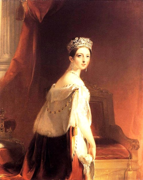 Thomas Sully (1783-1872). Queen Victoria. 1838