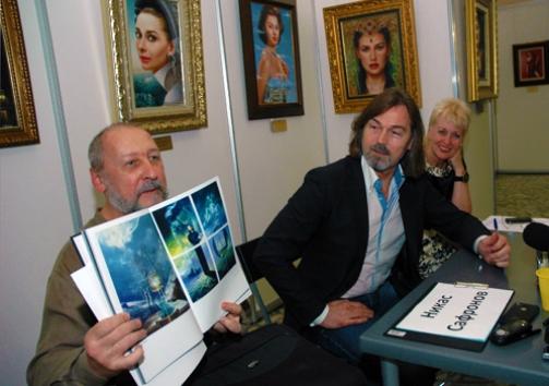 Vladislav Koval and Nikas Safronov