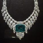 Women wearing emeralds