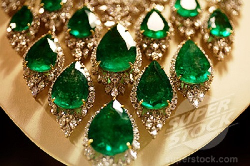 Dubai Emerald Necklace