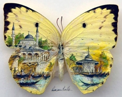 Art by Turkish artist Hasan Kale