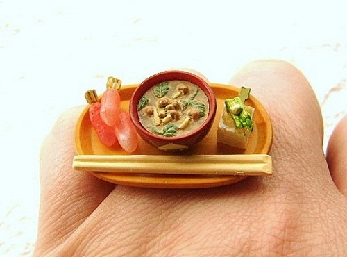Miniature food ring by SouZo Creations