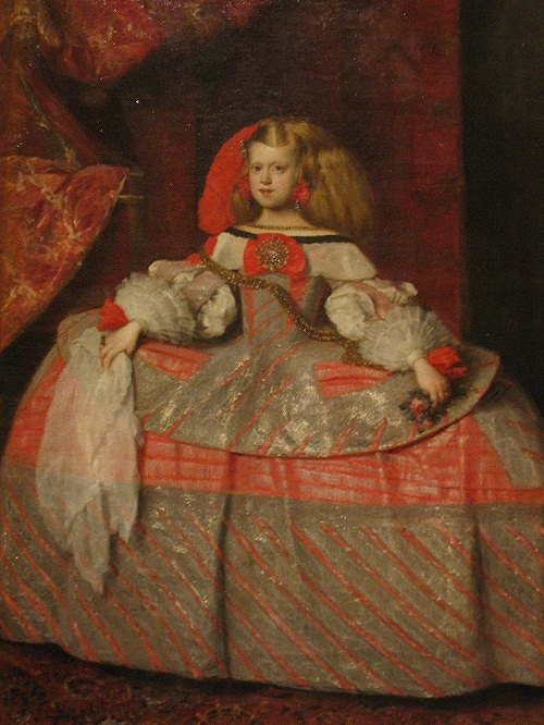 Short life of princess Infanta Margarita, 1660, Museo del Prado, Madrid