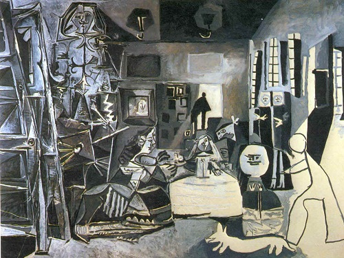 Pablo Picasso. Las Meninas. 1957.