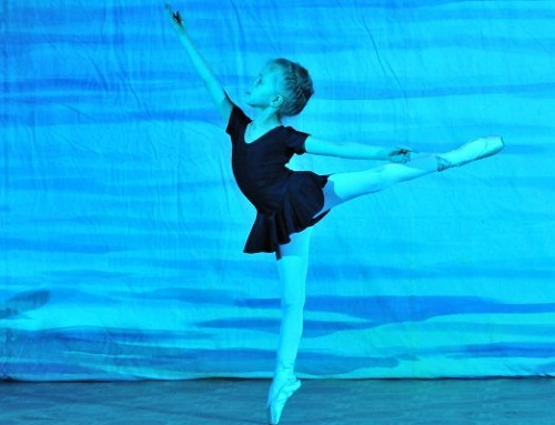 Lada Sartakova, 10-year-old ballerina from St. Petersburg, Russia