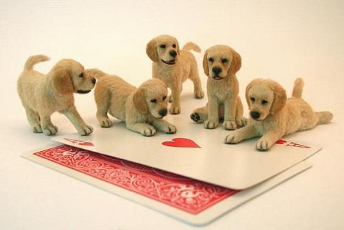 Realistic miniature animals by Kerri Pajutee