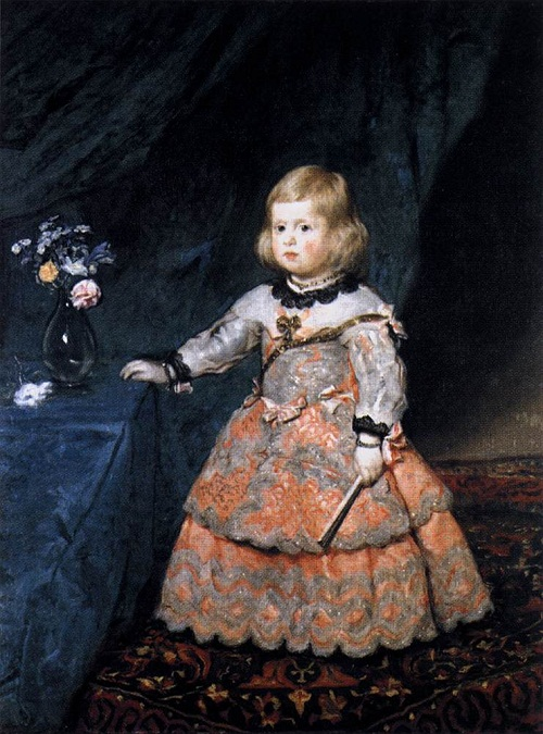 Diego Velazquez. Infanta Margarita. Three years old. 1653-54