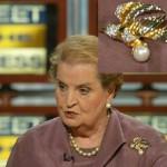 Madeleine Albright on 'Meet the Press' in 2005