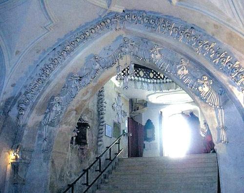 Gothic chapel on bones
