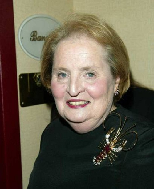 Madeleine Albright on 'Meet the Press' in 2004