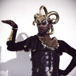 Madonna's Gladiator Dancer wearing nOir Fish Scale necklace!