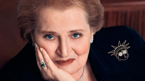 Madeleine Albright's jewelry