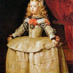 Diego Velazquez. Infanta Margarita. Five years old in 1656