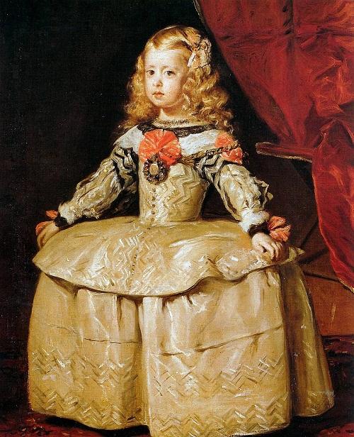 Diego Velazquez. Infanta Margarita. Five years old in 1656