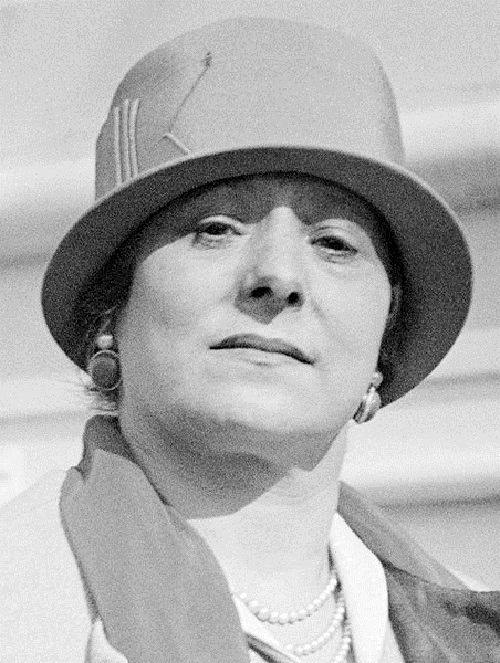 The Beauty queen Helena Rubinstein