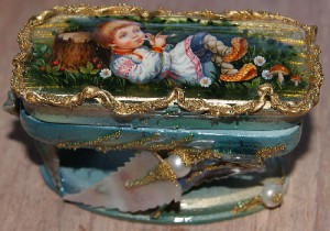 Jewelry boxes by Elena and Mikhail Shenshin
