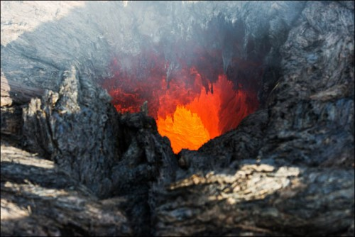 inside fire cave