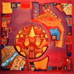 Colors and ornaments by Evgenia Miro