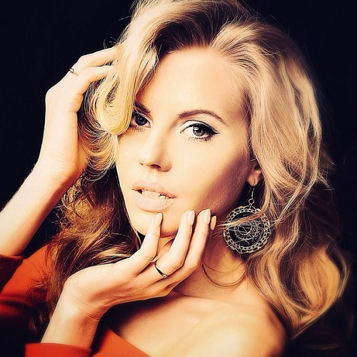 Beautiful Russian model Anastasia Klepneva