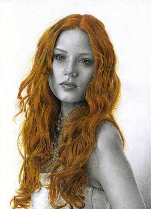 Hyperrealistic pencil drawings by Daniela Wolf
