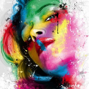 Bella Ragazza, painting by French artist Patrice Murciano