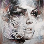 Stylized female portraits by Danny O'Connor
