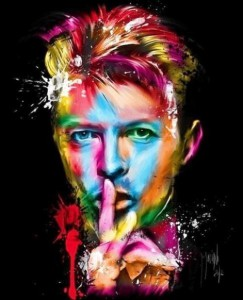 David Bowie by French artist Patrice Murciano