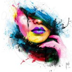 Fashion, painting by French artist Patrice Murciano
