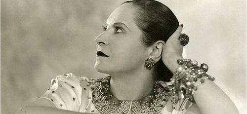 The Beauty queen Helena Rubinstein