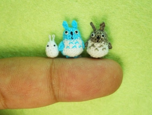 Micro Woodland Totoro and Friends