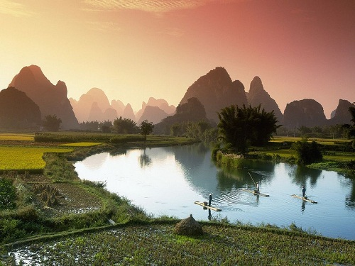 Only the man who crosses the river at night knows the value of the light of day. Chinese quote