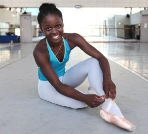 Beautiful ballerina Michaela DePrince