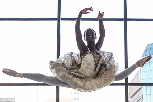 Beautiful ballerina Michaela DePrince