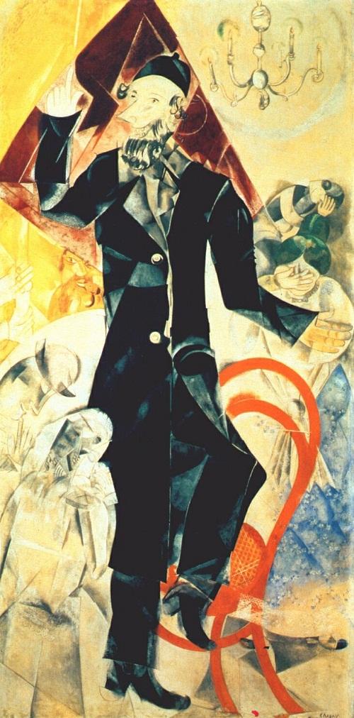 Chagall drama 1920