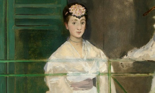Edouard Manet's portrait of Mademoiselle Claus, 1868